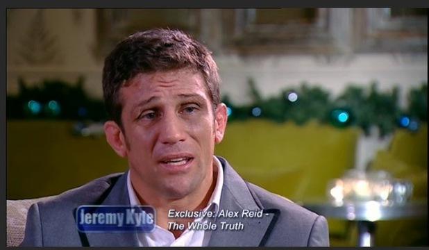 Alex Reid Jeremy Kyle Show