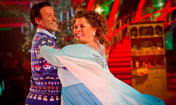 Strictly Come Dancing 2012 Christmas Special: Anton Du Beke, Katy Brand