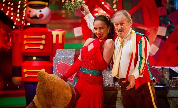 Strictly Come Dancing 2012 Christmas Special: Katya Virshilas, Bobby Ball