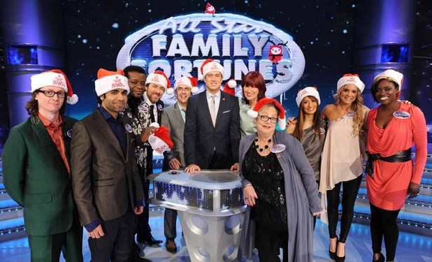 All Star Family Fortunes - Text Santa Special Teams captained by Jonathan Ross and Jo Brand