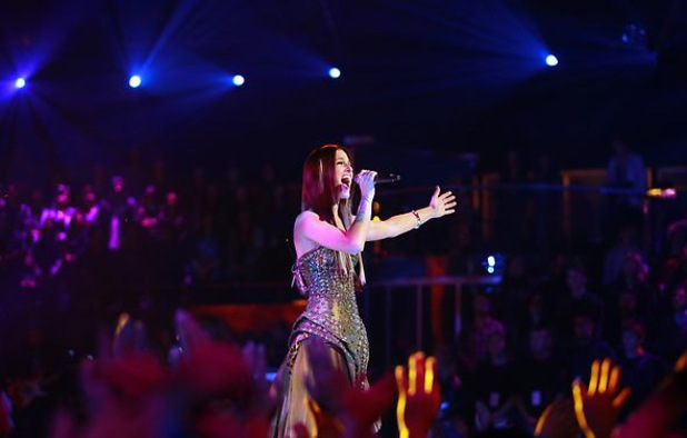 The Voice Season 3 Live final performances: Cassadee Pope