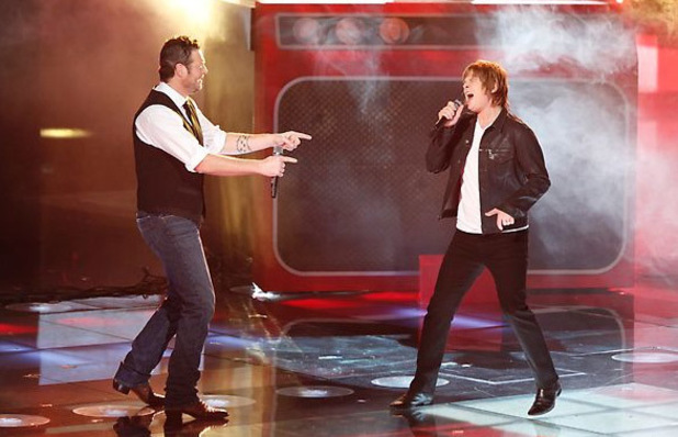 The Voice Season 3 Live final performances: Blake Shelton, Terry McDermott
