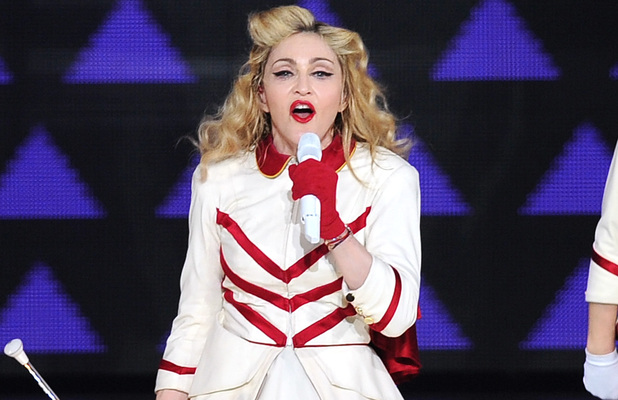 Madonna performs live in concert during the last city stop of her 2012 North American tour at The American Airlines ArenaFeaturing: Madonna