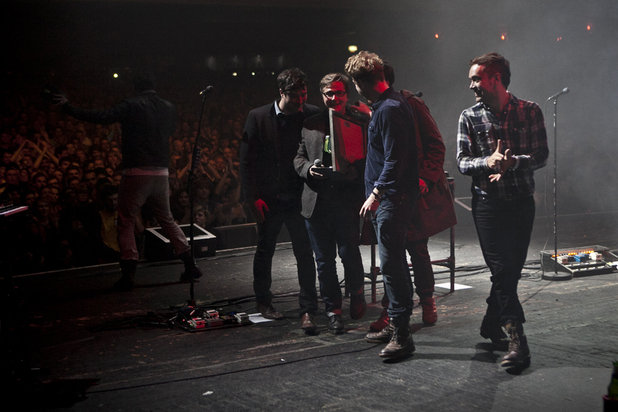 Mumford & Sons and John Kennedy at Xfm Winter Wonderland