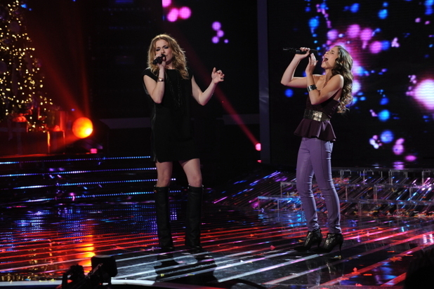Carly Rose Sonenclar and special guest Leeann Rimes perform