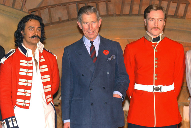Aamir Khan, Prince Charles and Toby Stevens