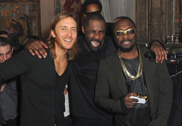 David Guetta, Idris Elba and will.i.am