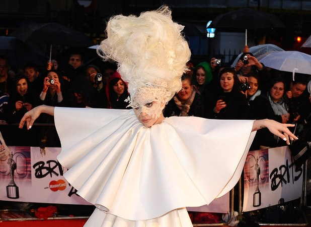 Lady GaGa, BRIT Awards 2010