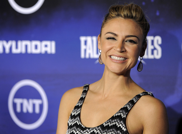 Samaire Armstrong at the &#39;Falling Skies&#39; premiere, summer 2011