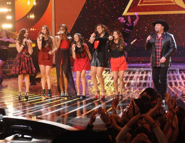 Carly Rose Sonenclar, Fifth Harmony and Tate Stevens perform 