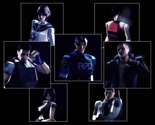 Resident Evil 6 retro costumes