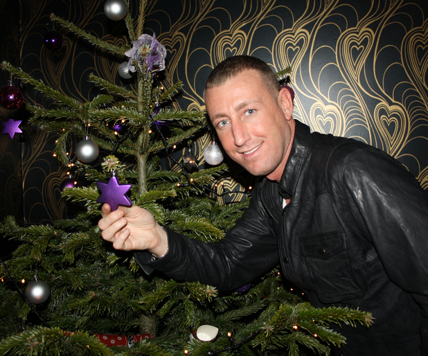 Chris Maloney with Nurses working on Christmas Day