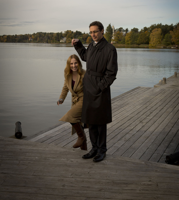 Guy Henry and Rosie Marcel