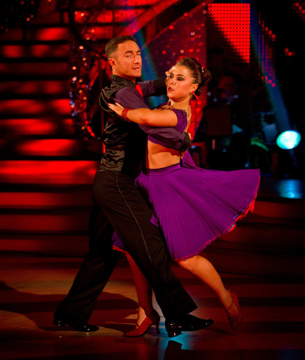 Dani Harmer on Strictly final