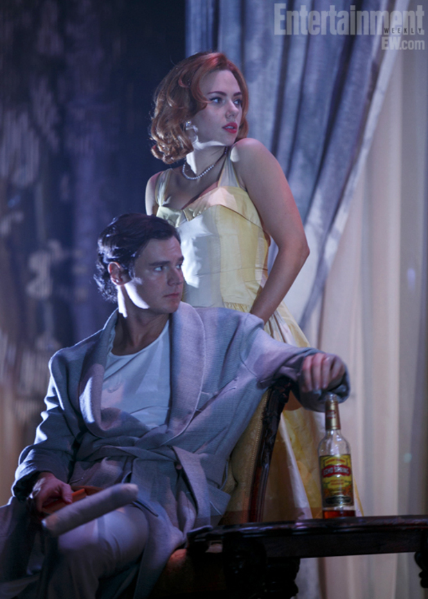 Scarlett Johansson in 'Cat on a Hot Tin Roof' play - photo