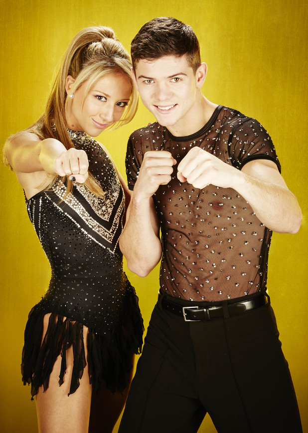 Luke Campbell and Jenna Harrison