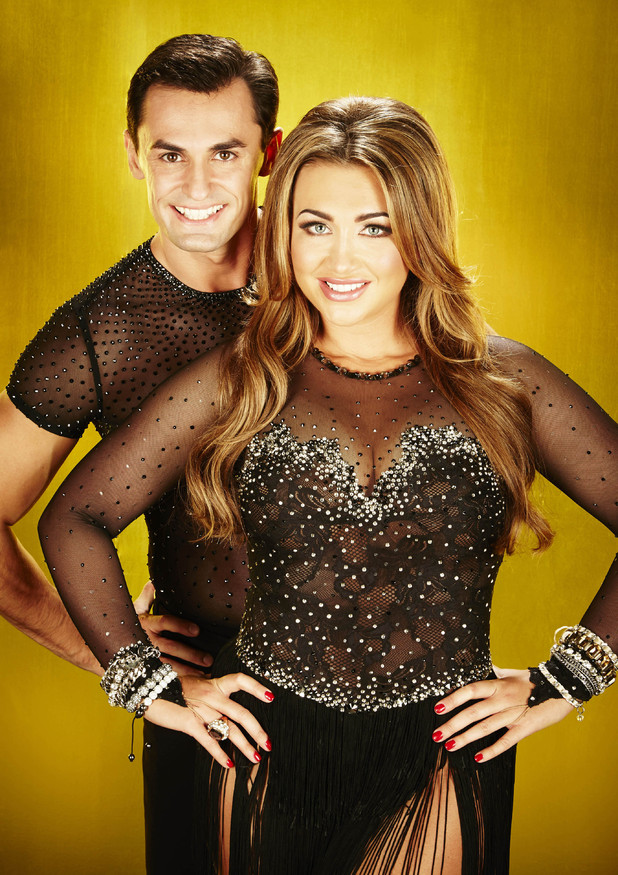 Lauren Goodger and Michael Zenezini