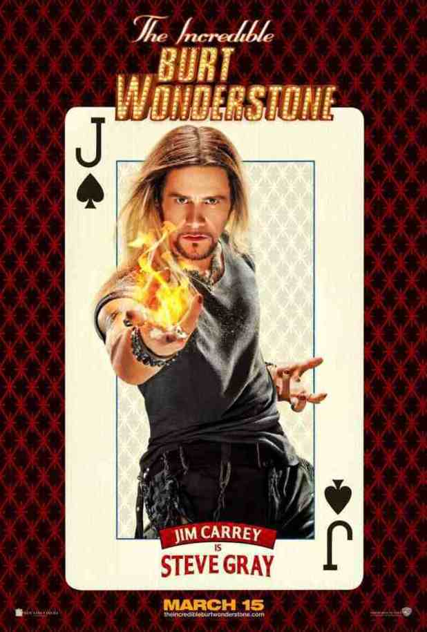 'The Incredible Burt Wonderstone' character posters