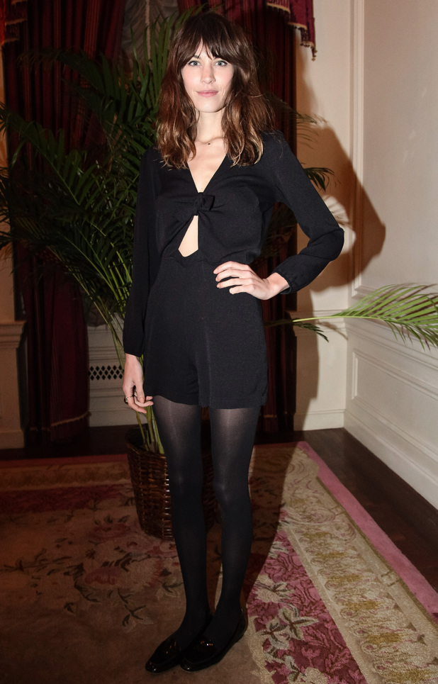 Alexa Chung, Derek Blasberg Opening Ceremony Stationery Launch, New York, America