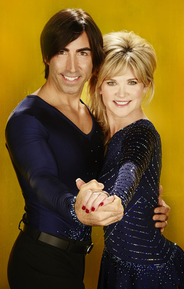 Anthea Turner and Andrew Buchanan