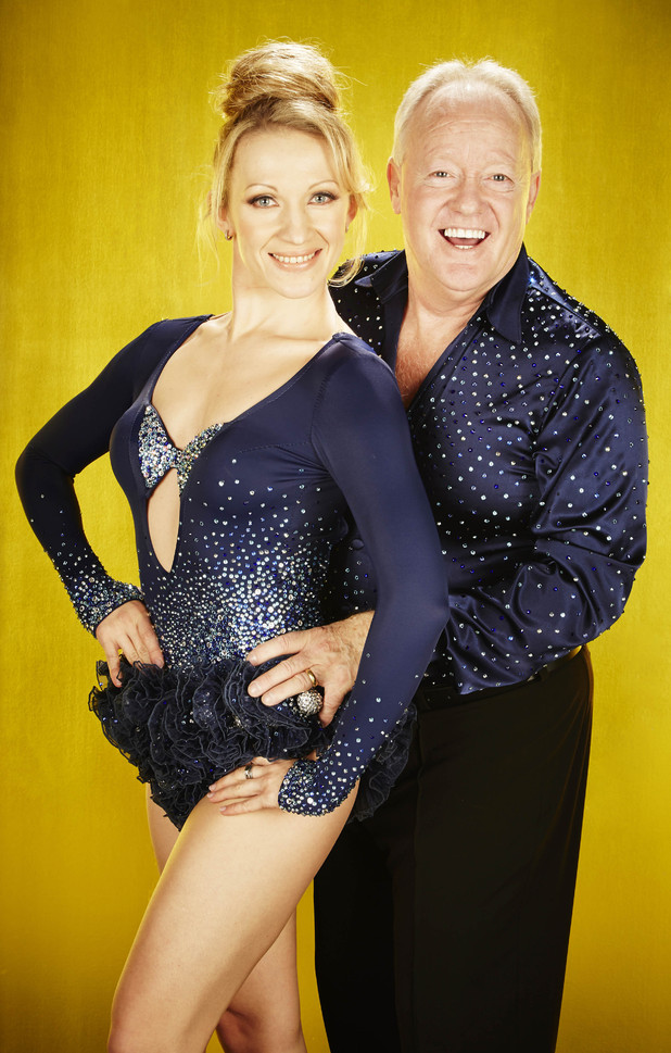Keith Chegwin and Olga Sharutenko