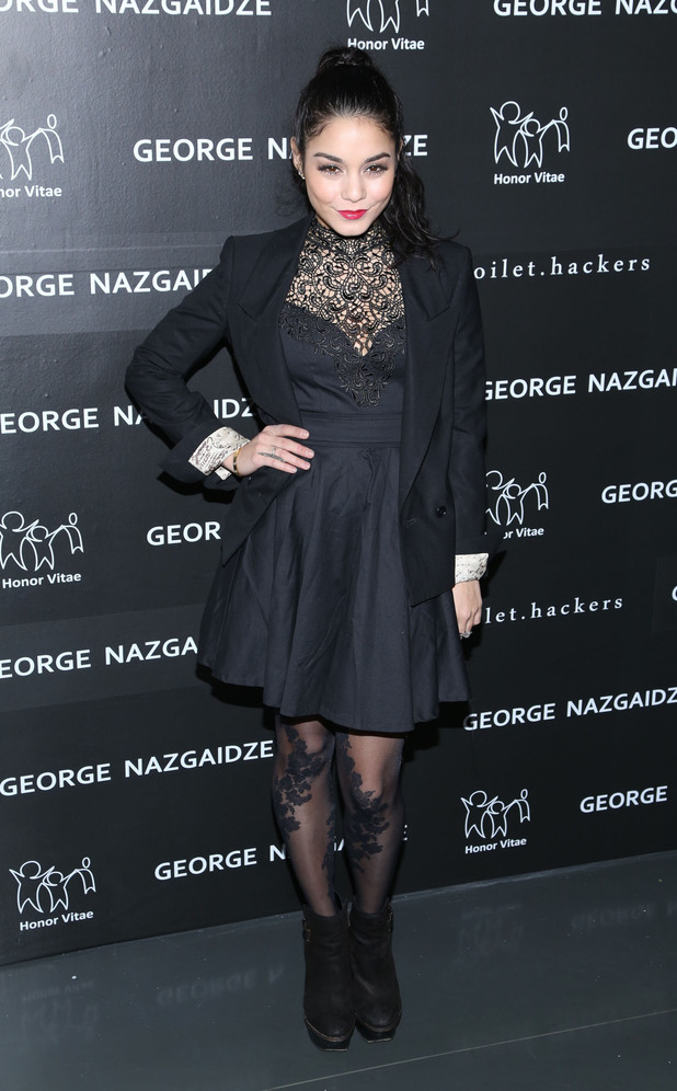 Vanessa Hudgens, Charity Meets Fashion Holiday Celebration honoring The World's Children at Affirmation Arts