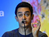Aamir Khan speaks during an event where he was appointed as the UNICEF ambassador promoting nutrition for children, in New Delhi, India (Nov 2011)
