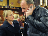 6444: Nicola is outraged that Jimmy has asks Chas to the family dinner after putting up Carl's headstone tomorrow