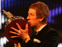 The cyclist beats his fellow London 2012 stars to receive the BBC prize.