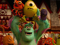 Pixar movie holds off competition from new entries White House Down and The Heat.