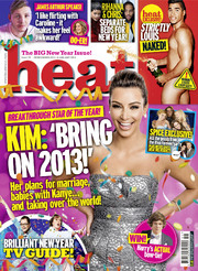 Heat December 2012 Christmas special covermount