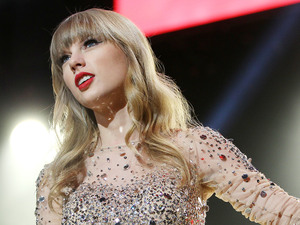 Taylor Swift at Jingle Ball