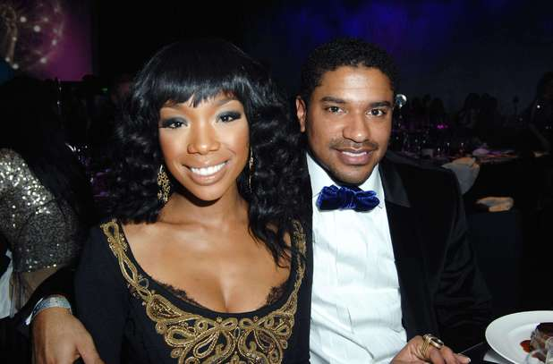 Brandy and Ryan Press at Stevie Wonder Live on New Years Eve, The Cosmopolitan, Las Vegas, Nevada, America - 31 Dec 2011