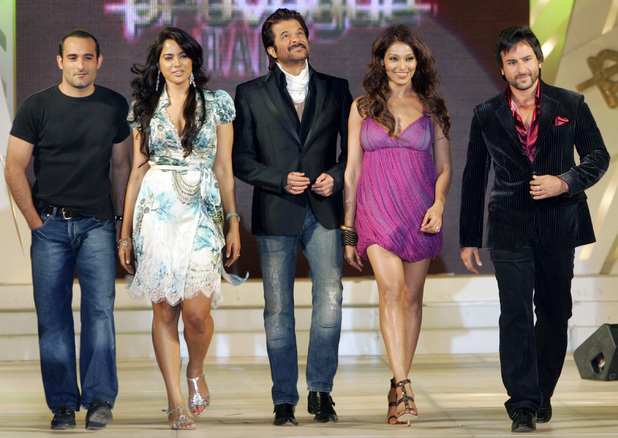 Akshay Kumar, Sameera Reddy, Anil Kapoor, Esha Doel and Saif Ali Khan.