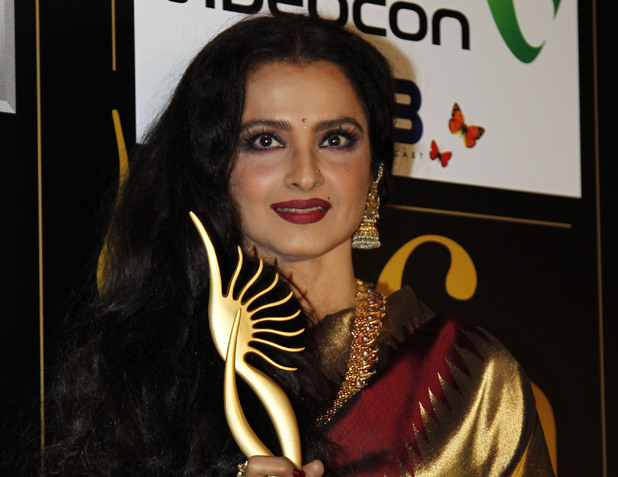 Rekha, photographed in June 2012