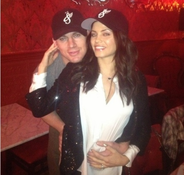Channing Tatum and wife Jenna Dewan-Tatum wish fans a Merry Christmas`
