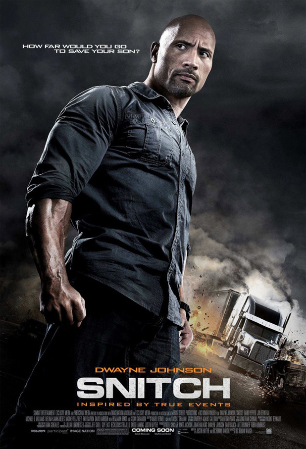 Dwayne Johnson's 'Snitch' debuts poster