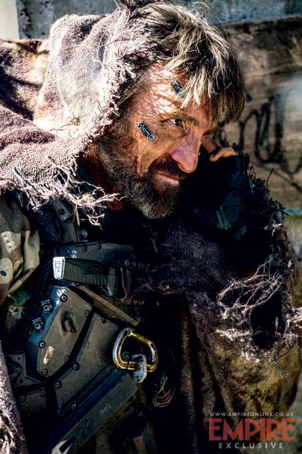 Sharlto Copley playing 'Kruger' in Elysium