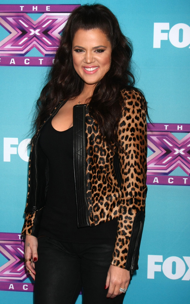 X Factor USA finals Press Confrence at held at CBS StudiosFeaturing: Khloe Kardashian Odom Where: Los Angeles, California, United States When: 17 Dec 2012 Credit: Nikki Nelson/WENN.com