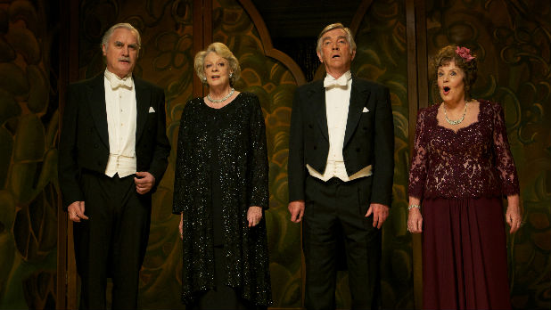 Watch an exclusive trailer of Dustin Hoffman's 'Quartet' starring Maggie Smith, Tom Courtenay, Billy Connolly, Pauline Collins and Sheridan Smith - In cinemas January 4th 2013