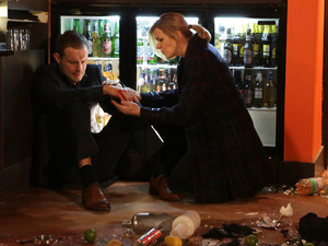 Corrie, Leanne finds Nick has smashed up the Bistro, Mon 7 Jan