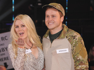 Spencer Pratt and Heidi Montag on Celebrity Big Brother January 2013