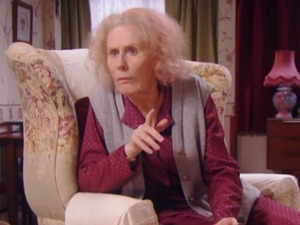 Catherine Tate's Nan in Pilot episode