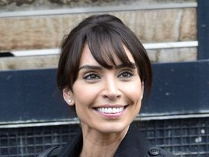 Christine Bleakley outside the ITV studios ahead of her interview on Loose Women