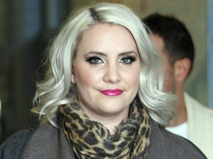 Claire Richards outside the ITV studios London, England - 02.11.12 Mandatory Credit: WENN.com