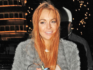 Lindsay Lohan heads back to the Dorchester Hotel after shopping at HarrodsFeaturing: Lindsay Lohan