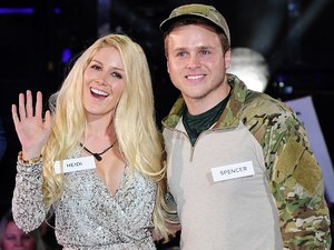 Heidi and Spencer arriving at the launch of Celebrity Big Brother 2013