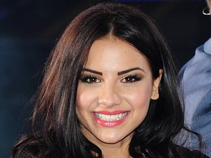 Lacey Banghard arriving at the launch of Celebrity Big Brother 2013