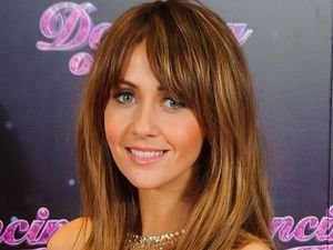 Samia Ghadie at a photocall for the launch of the new series of 'Dancing on Ice' at the ITV Studios, London