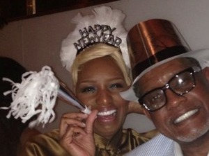NeNe Leakes and ex-husband Gregg Leakes celebrate New Year&#39;s Eve